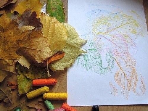 Рисунки как нарисовать осенний лист карандашом (12)