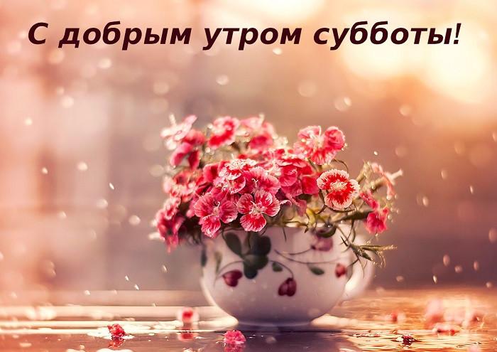 С добрым утром суббота милые и позитивные открытки (7)