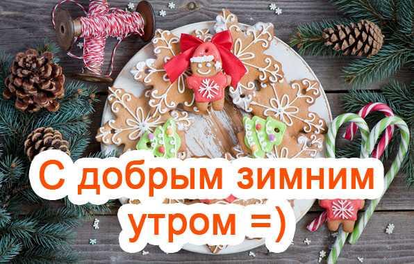 Удивительные открытки с теплым добрым зимним утром (14)