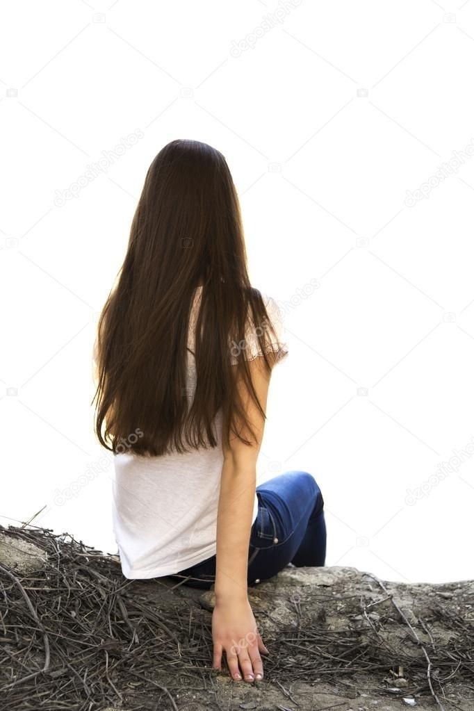 Фото девушки спиной017
