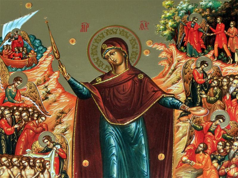 Фото на праздник Скорбящая Божья Мать, Светец (13)
