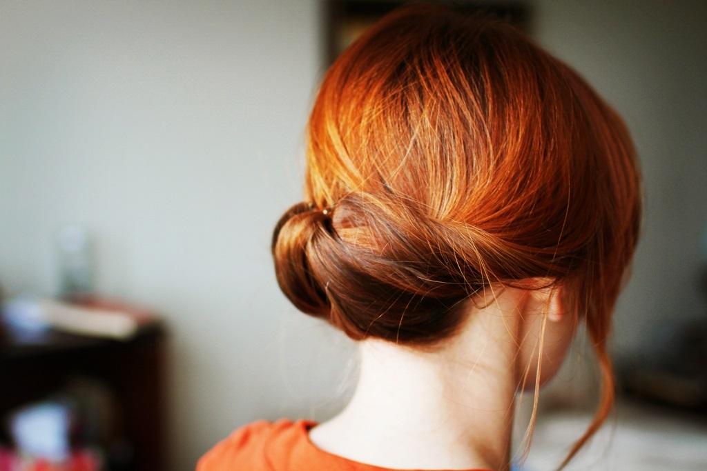 Фото рыжих девушек со спины на аву009