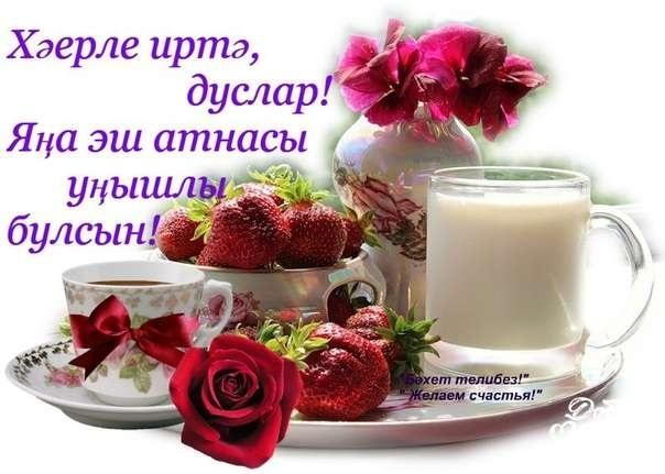 учёные поздравить с добрым утром картинки на татарском меня язык