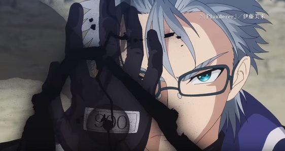 Грабитель аниме красивые арты и картинки (4)