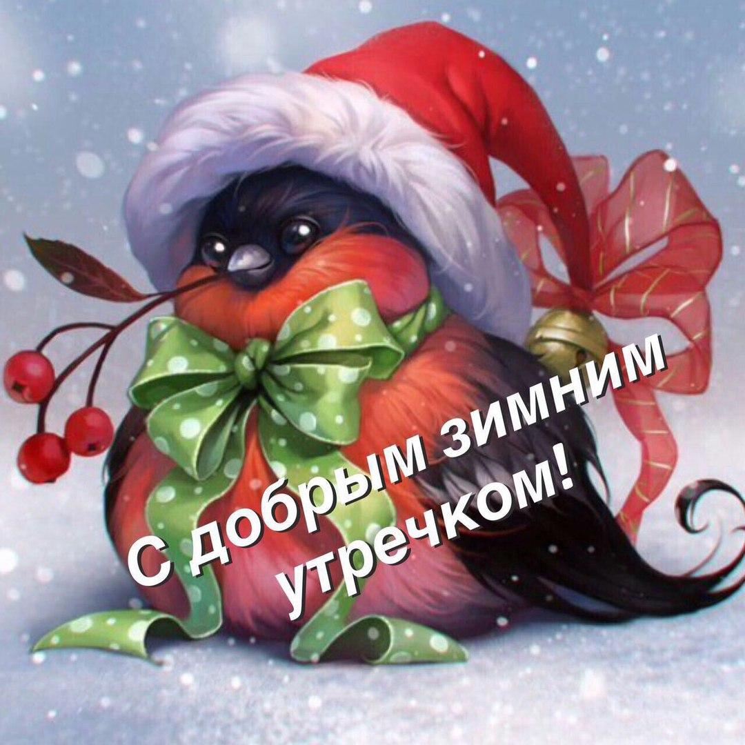 Красивые зимние картинки доброе утро (10)