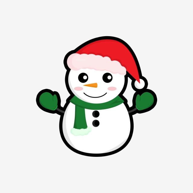 Красивые и милые рисунки снеговиков (1)
