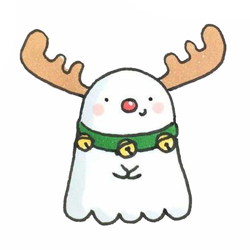 Красивые и милые рисунки снеговиков (15)