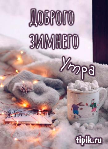 Красивые картинки зимние доброе утро (17)