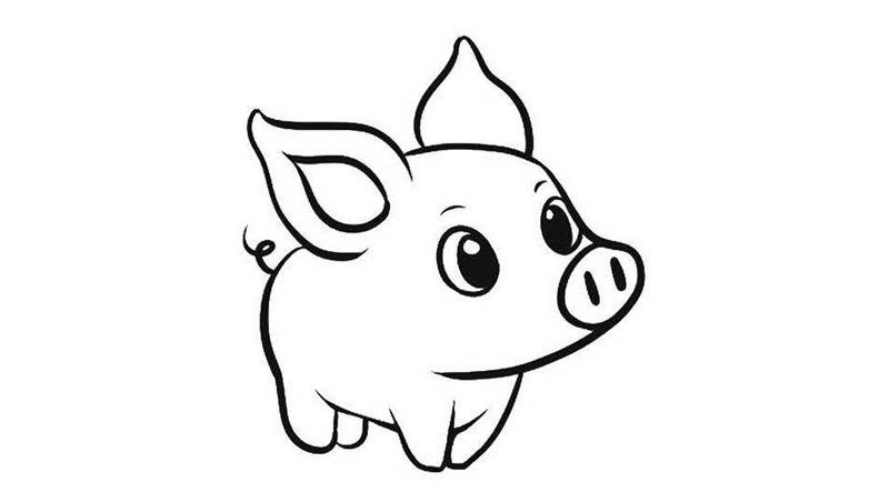 Красивые картинки про Новый год крысы 2020 для срисовки (25)