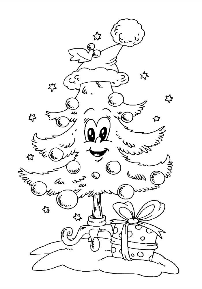 Красивые картинки про Новый год крысы 2020 для срисовки (7)