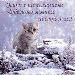 Красивые картинки с добрым снежным утром