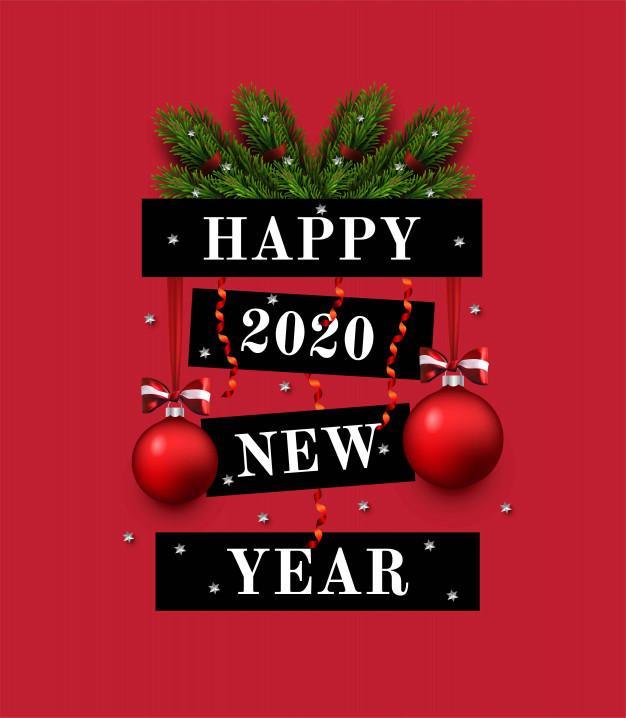 Красивые открытки на Новый год 2020 поздравления (5)
