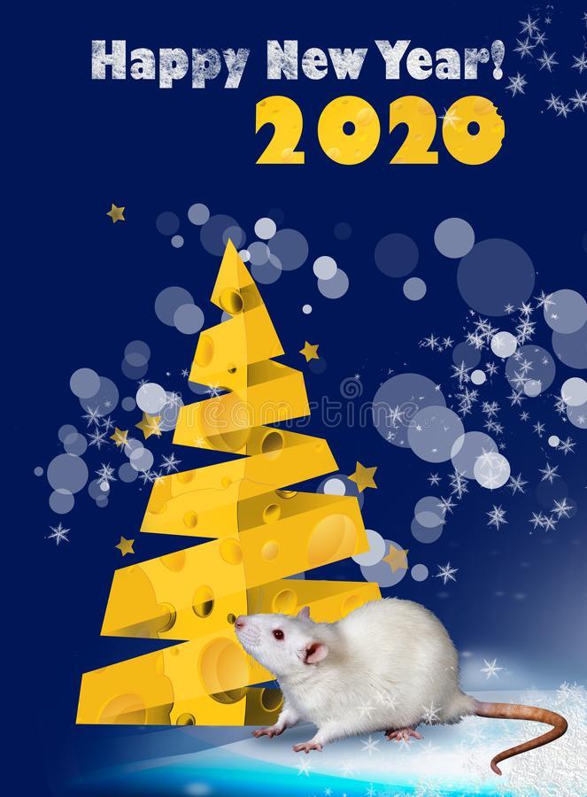 Красивые открытки на Новый год 2020 поздравления (8)