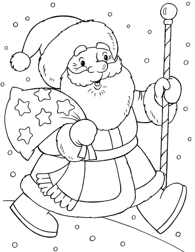Красивые рисунки зимы для детей карандашом (10)