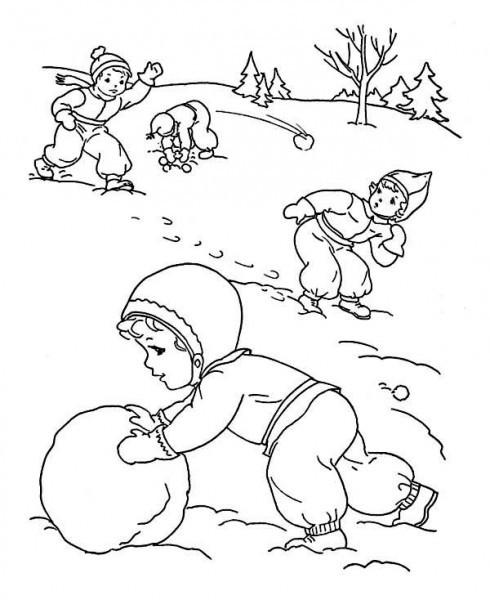 Красивые рисунки зимы для детей карандашом (14)