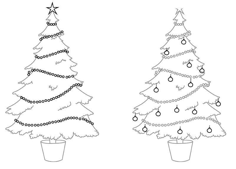 Красивые рисунки зимы для детей карандашом (18)