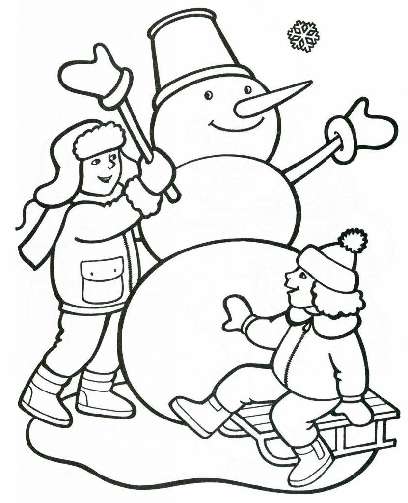 Красивые рисунки зимы для детей карандашом (2)