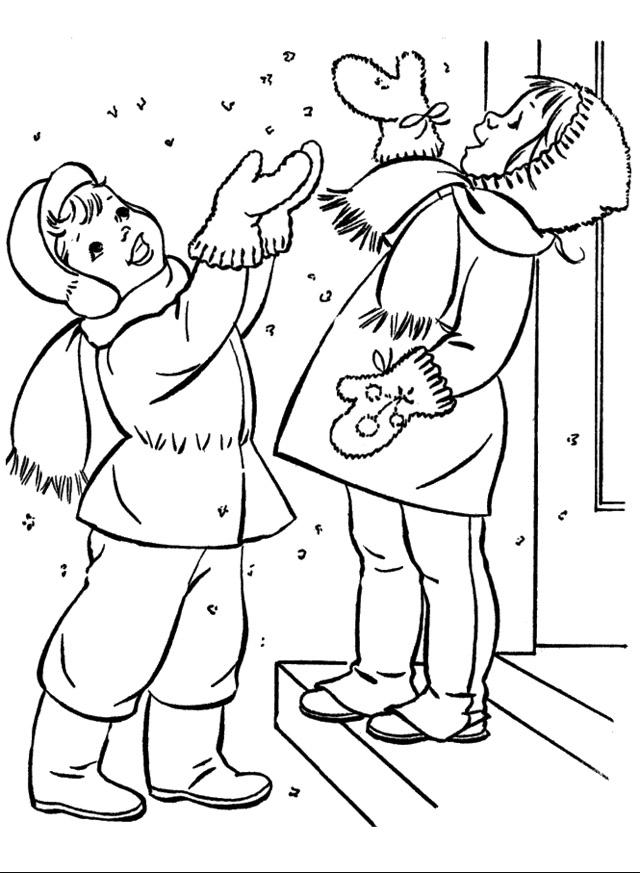 Красивые рисунки зимы для детей карандашом (4)