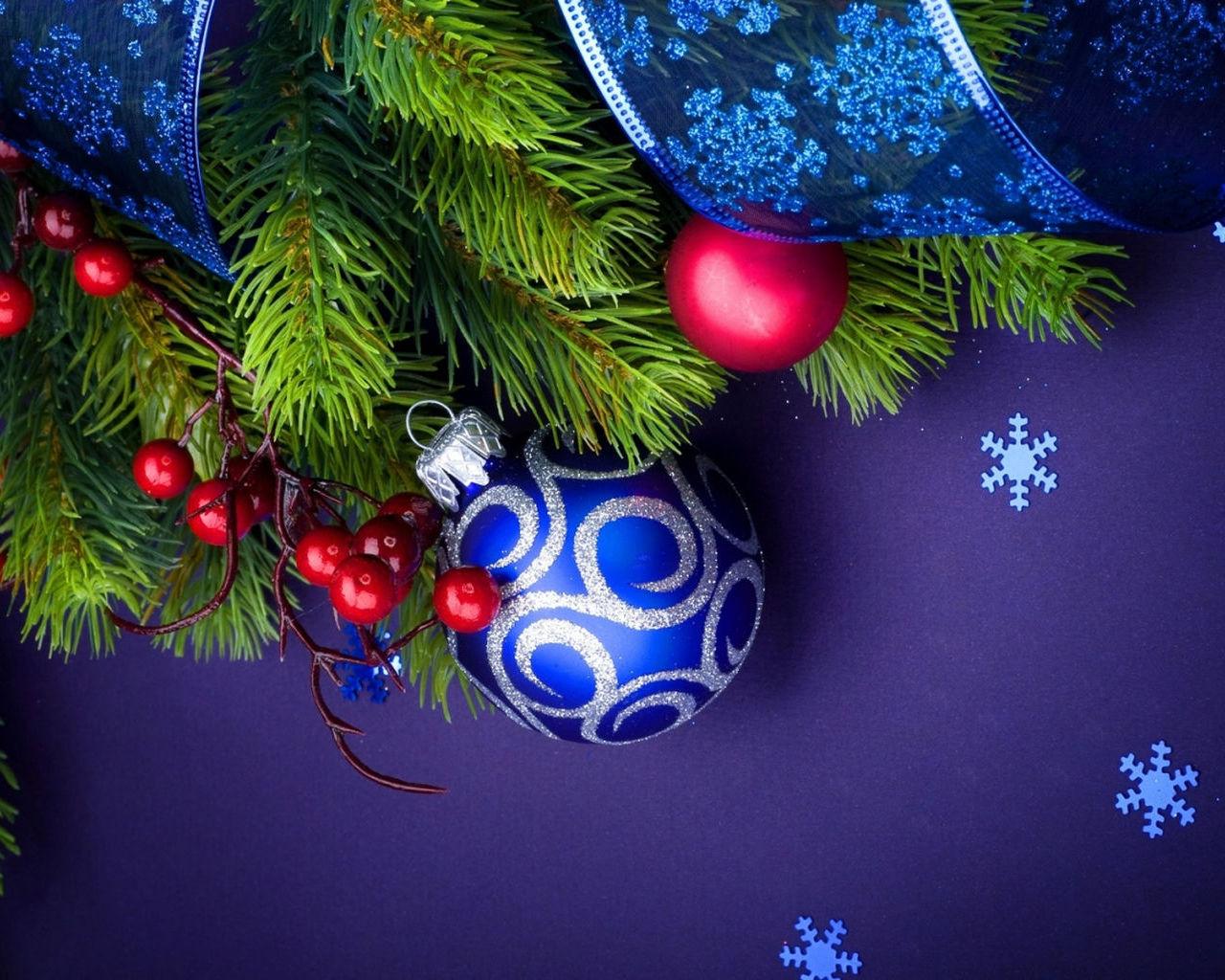 Лучшие обои для рабочего стола на новогоднюю тематику (11)