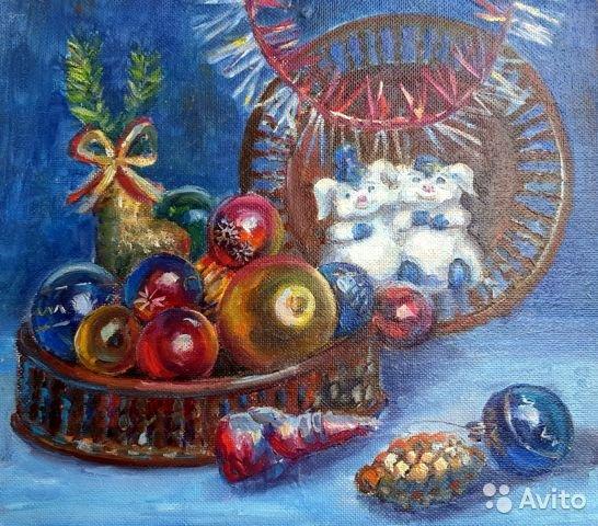 Новогодний натюрморт и фотографии - подборка (10)