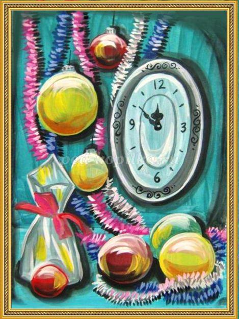 Новогодний натюрморт и фотографии - подборка (11)
