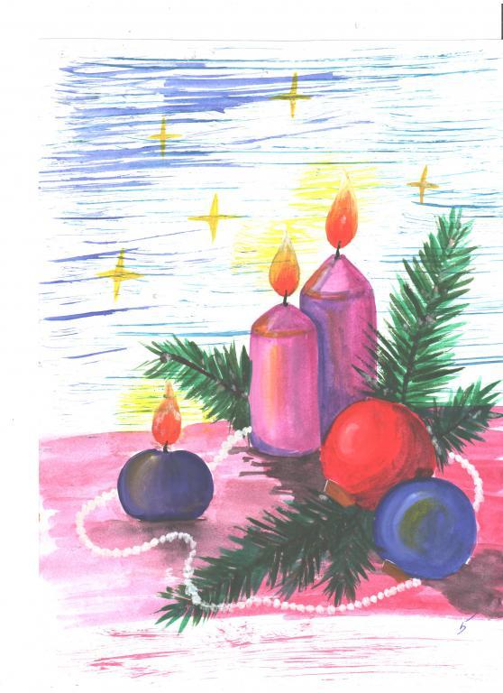 Новогодний натюрморт и фотографии - подборка (15)