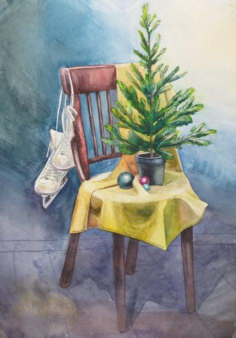 Новогодний натюрморт и фотографии - подборка (17)