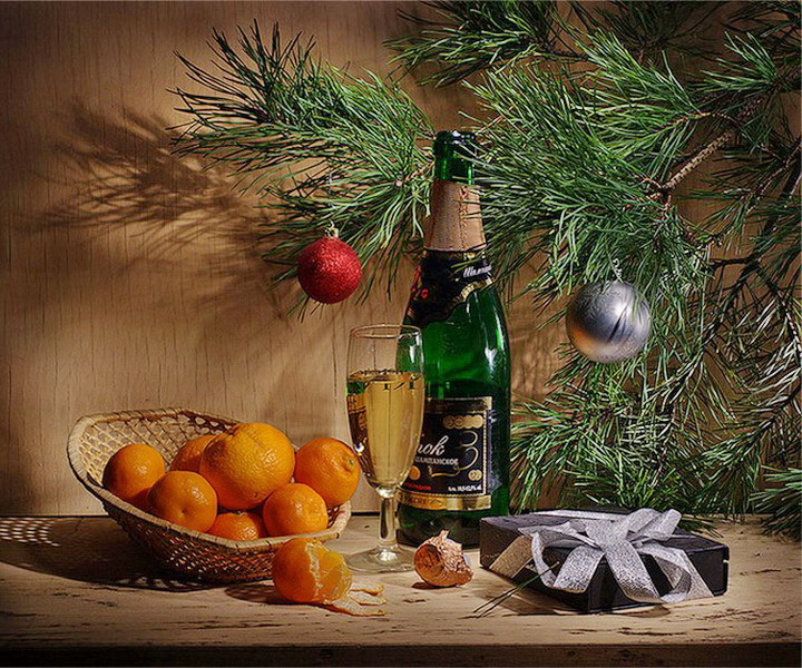 Новогодний натюрморт и фотографии - подборка (25)