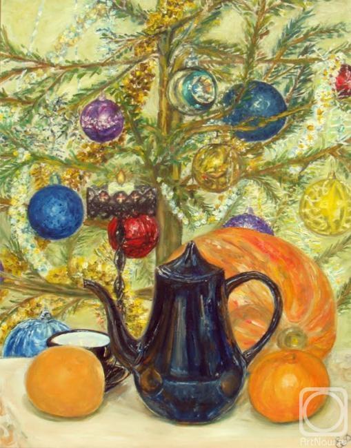 Новогодний натюрморт и фотографии - подборка (27)