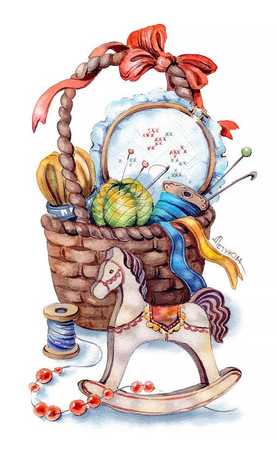 Рисунки зимы для детей 3 класса (5)
