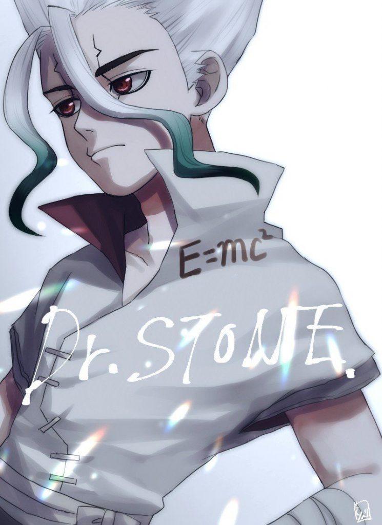 Доктор Стоун Dr. Stone красивые арты и картинки из аниме (15)