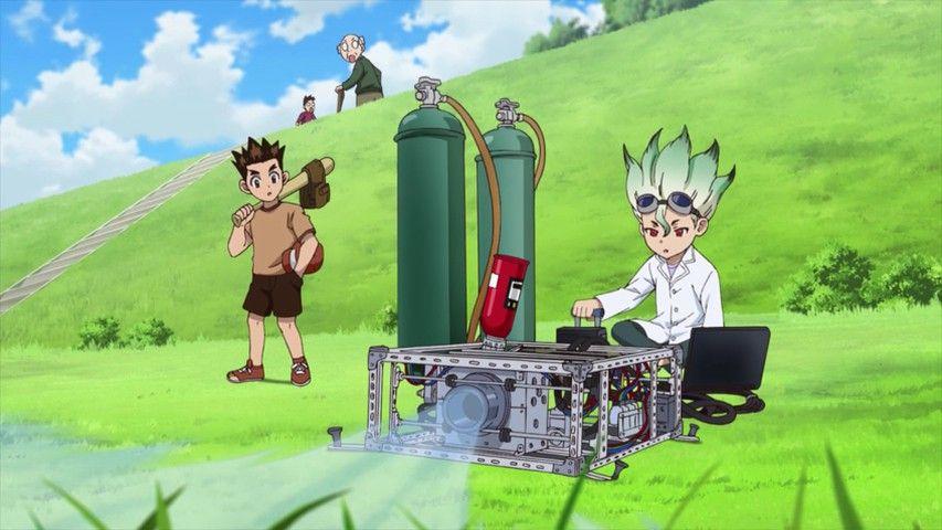 Доктор Стоун Dr. Stone красивые арты и картинки из аниме (23)