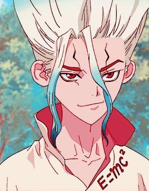 Доктор Стоун Dr. Stone красивые арты и картинки из аниме (43)