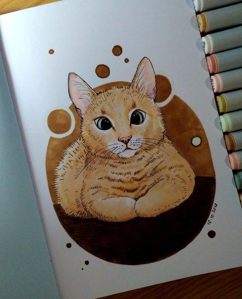 Красивые рисунки маркером для срисовки (1)