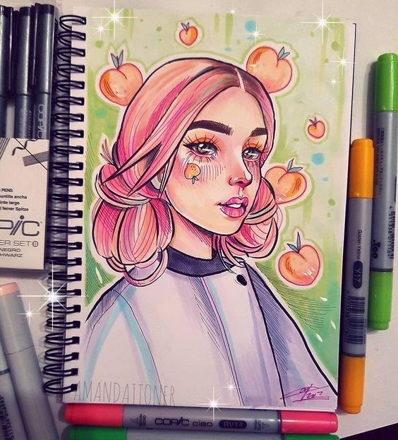 Красивые рисунки маркером для срисовки (12)
