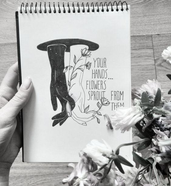 Красивые рисунки маркером для срисовки (19)