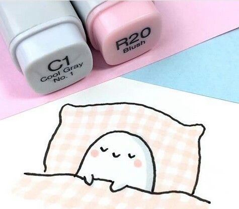 Красивые рисунки маркером для срисовки (22)
