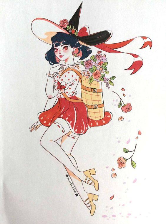 Красивые рисунки маркером для срисовки (27)