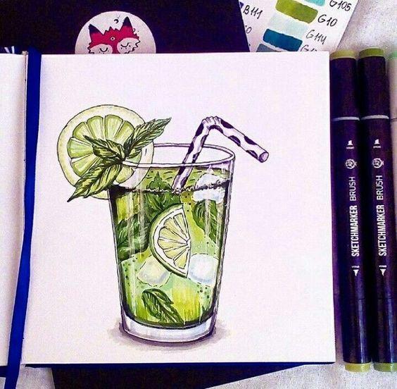 Красивые рисунки маркером для срисовки (29)