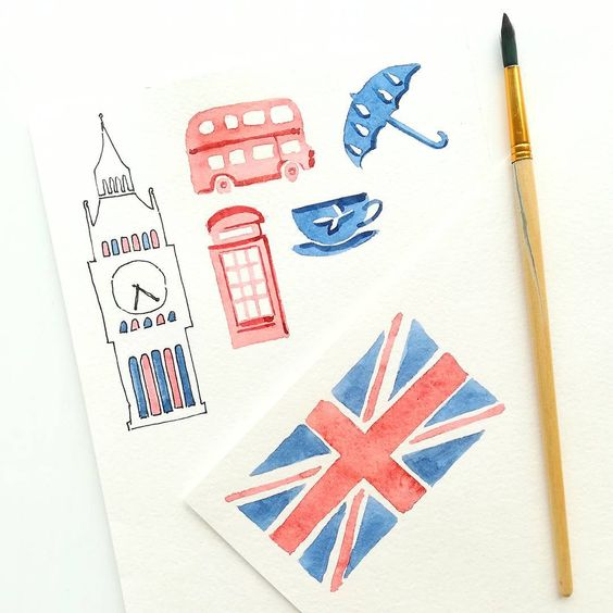 Красивые рисунки маркером для срисовки (30)