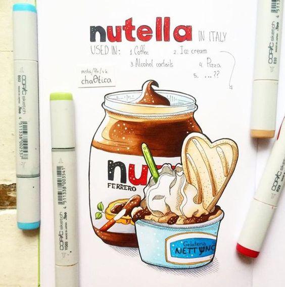Красивые рисунки маркером для срисовки (4)