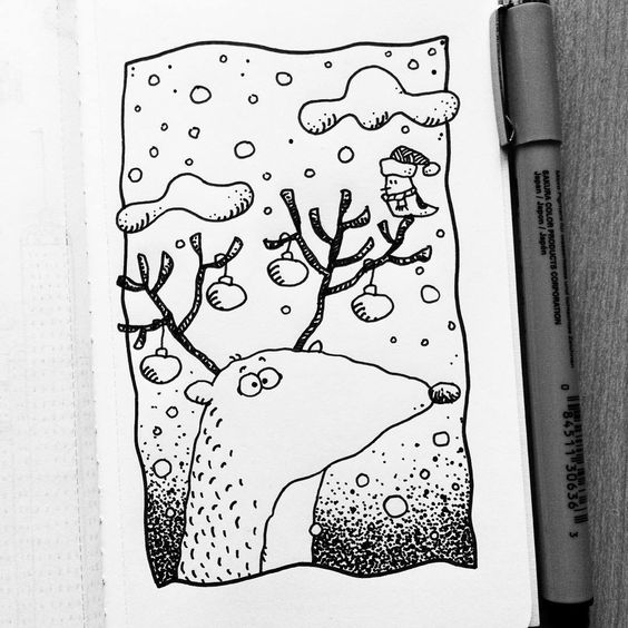 Красивые рисунки маркером для срисовки (6)