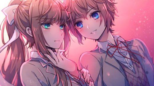 Doki Doki Literature Club!   подборка красивых картинок (7)