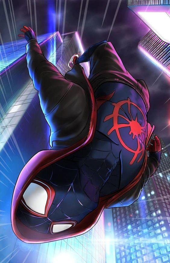 Красивые арты человека-паука в отличном качестве (10)