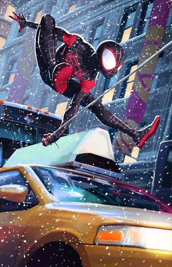 Красивые арты человека-паука в отличном качестве (5)
