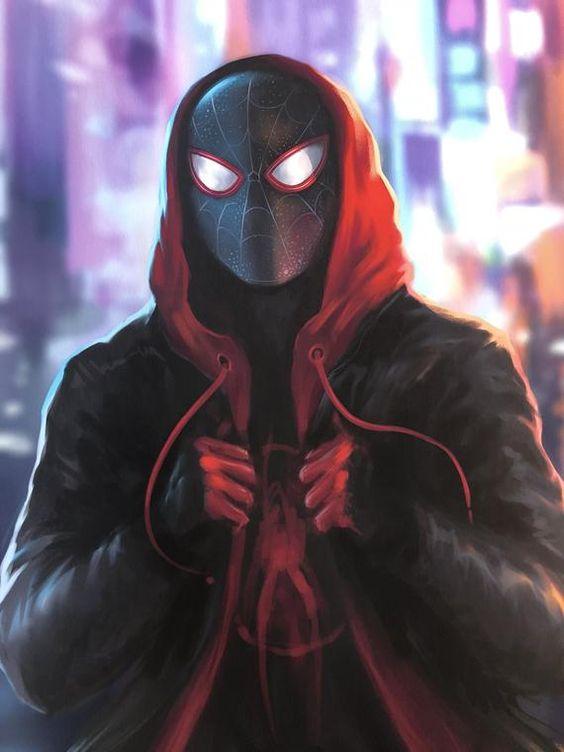 Красивые арты человека паука в отличном качестве (9)