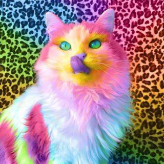 Красивые и удивительные обои котов на заставку смартфона (3)