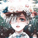 Красивые картинки и арты аниме парня с повязкой на глазу