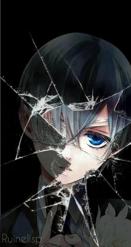 Красивые картинки и арты аниме парня с повязкой на глазу (15)