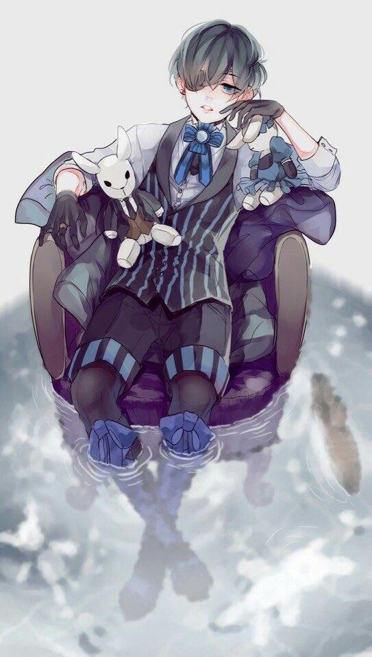 Красивые картинки и арты аниме парня с повязкой на глазу (4)